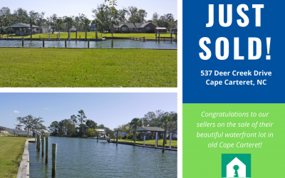 Just Sold! 537 Deer Creek, Cape Carteret