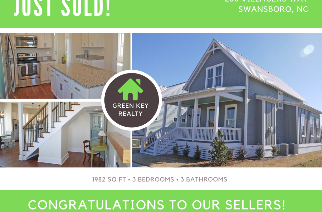 Just Sold! 208 Villagers Way, Swansboro