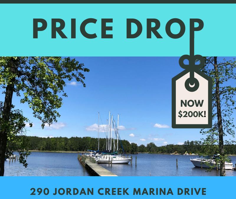Price Drop! 290 Jordan Creek Marina Drive Belhaven, NC 27810