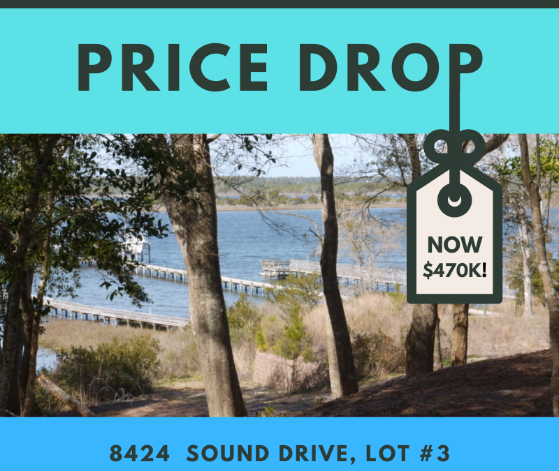 Price Drop! 8424 Sound Drive, Emerald Isle, NC 28594